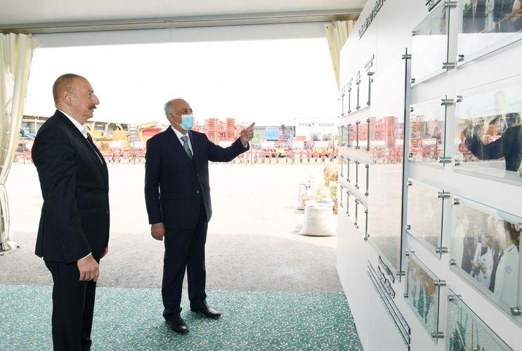 В Гаджигабуле состоялось открытие «Шамахинского агропарка Азерсун» - <span class='red_color'>ОБНОВЛЕНО</span>