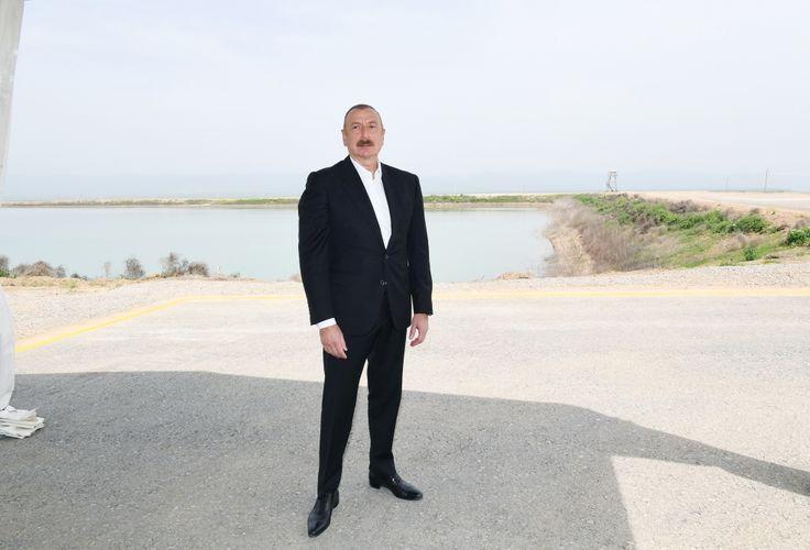 President Ilham Aliyev interviewed by Azerbaijan Television - <span class=