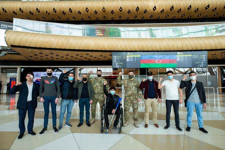 Фонд «YAŞAT» отправил в Турцию еще 12 тяжелораненых участников войны