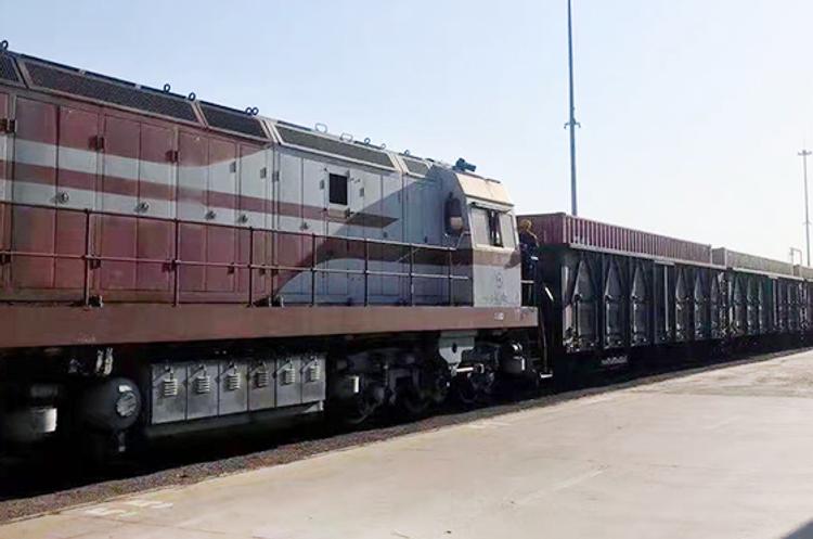Çin-Azərbaycan ikinci konteyner qatarı Bakıya çatıb