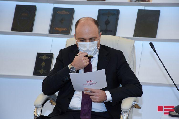Azerbaijani Minister of Culture tests positive for coronavirus