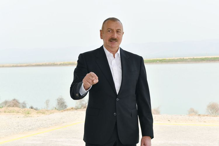 """Azerbaijani President: """"The first group of formerly displaced persons will return to their native lands next year"""""""