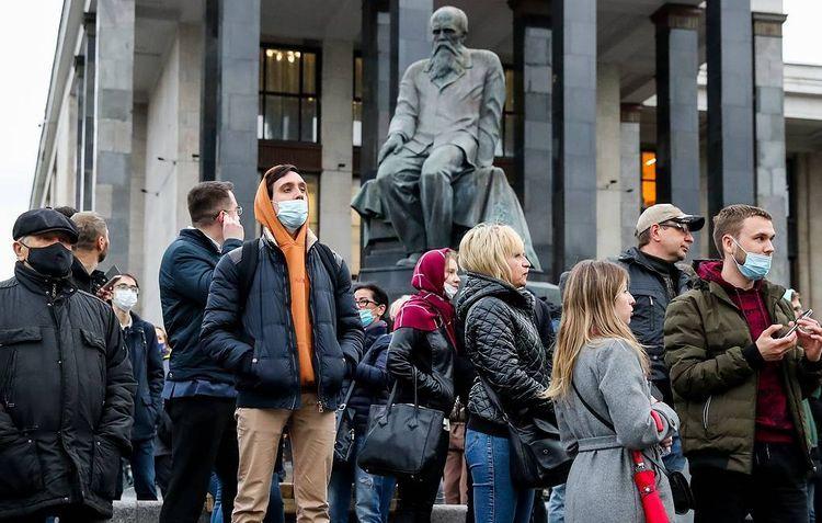 Rusiyada Aleksey Navalnının tərəfdarları icazəsiz aksiya keçirib