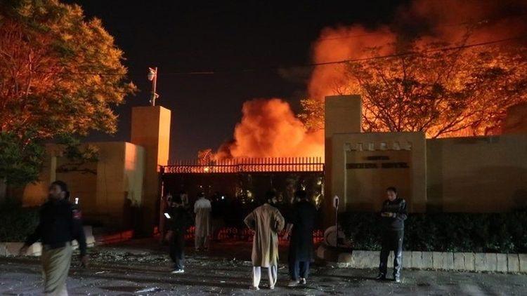 Deadly blast hits luxury hotel in Pakistan