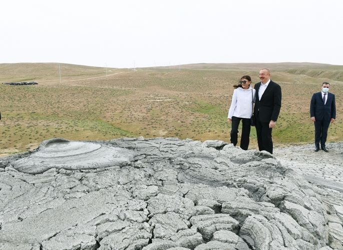 Groundbreaking ceremony was held for Mud Volcanoes Tourism Complex in Absheron district - <span class='red_color'>UPDATED</span>
