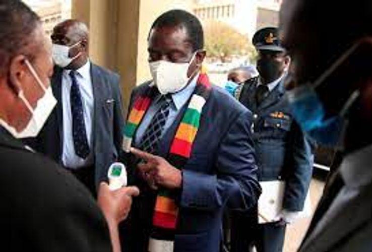 Zimbabwean president gets 2nd Sinovac vaccine dose