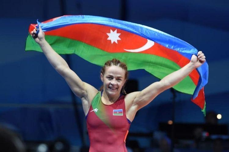 Azerbaijani female wrestler Maria Stadnik became the European champion for the 8th time - <span class=