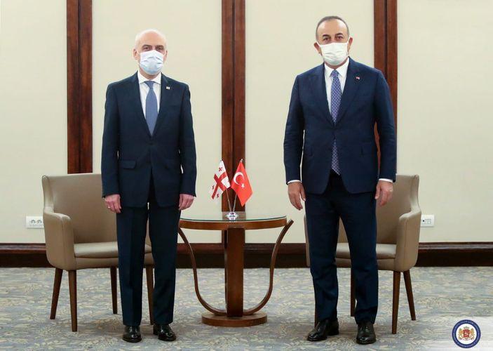 Türkiyə və Gürcüstanın XİN başçıları görüşüb