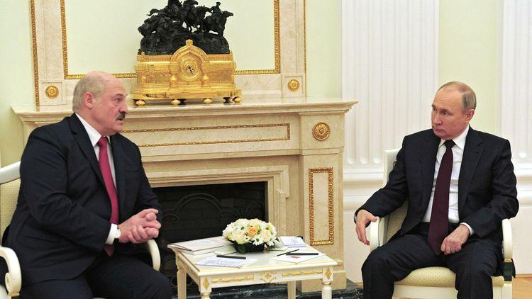 В Москве прошли переговоры Путина и Лукашенко