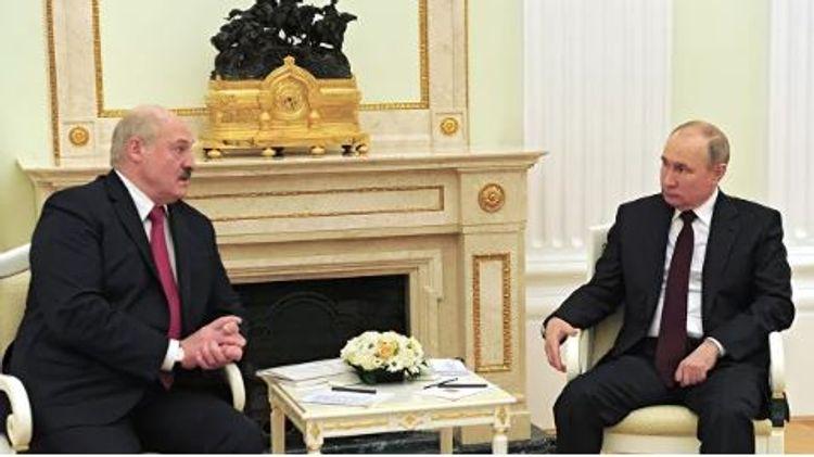 Moskvada Putin və Lukaşenko arasında 4 saata yaxın görüş keçirilib