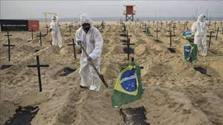 Brazil reports 3,472 more deaths