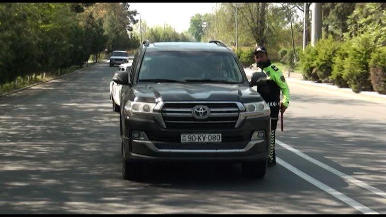 İşğaldan azad olan ərazilərə getmək istəyən sürücülər saxlanılıb