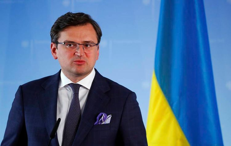 Ukrainian FM comments on statement of Minister of Defense of Russian Federation concerning beginning of withdrawal of Russian troops from Ukrainian borders