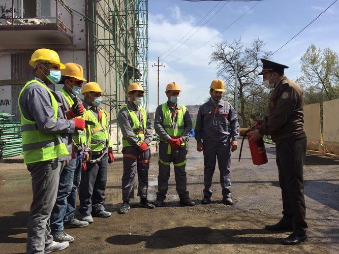 МЧС проводит просветительские мероприятия по пожарной безопасности в Шуше