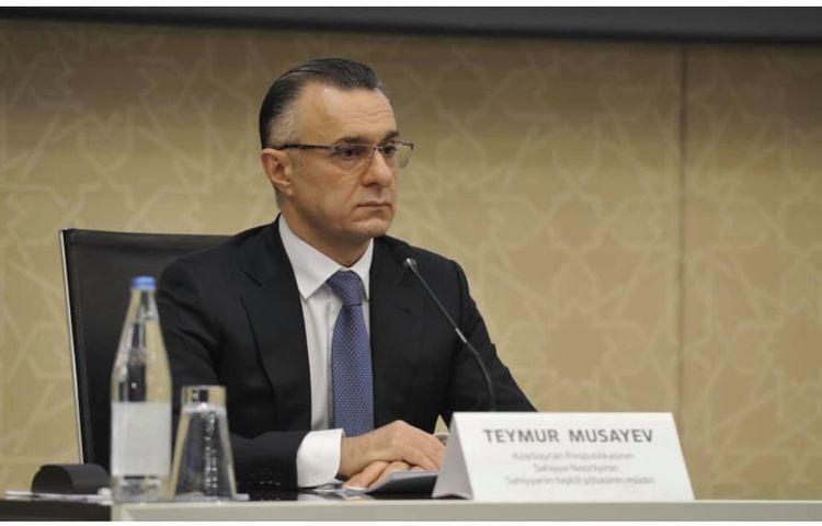 Teymur Musayev to be acting Minister of Health of Azerbaijan