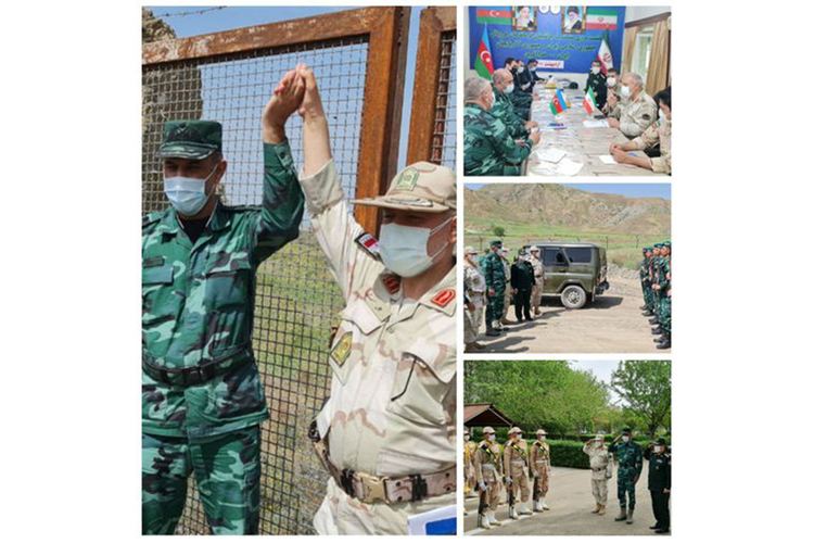 Azerbaijani border guards to ensure security of northern part of water dams on Iranian border