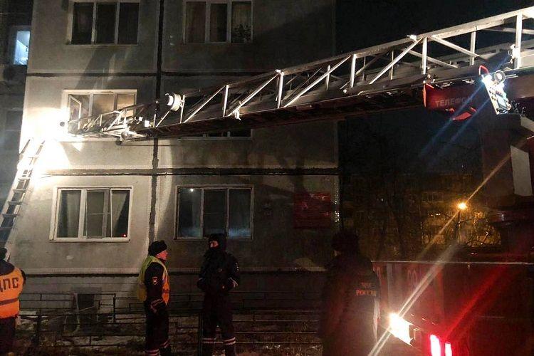 Rusiyanın Perm bölgəsində yanğın zamanı 4 uşaq ölüb