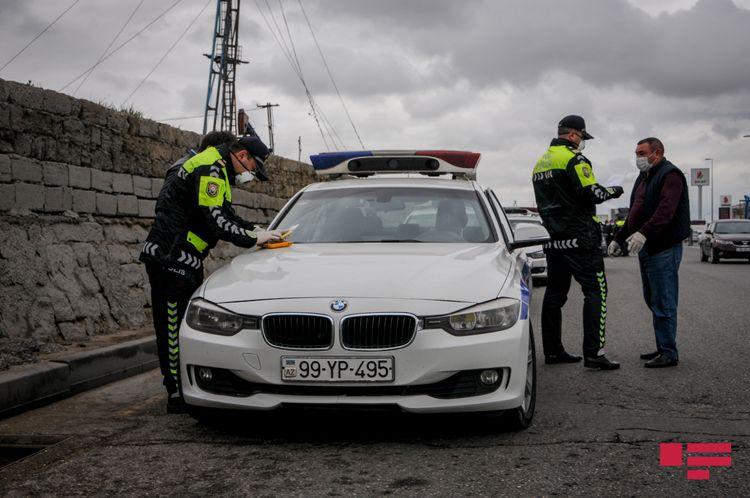 Saatlıda yol polisi reyd keçirib, 25 sürücü cərimələnib