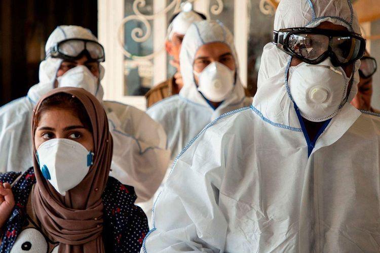 В Иране за минувшие сутки от коронавируса умерли 374 человека