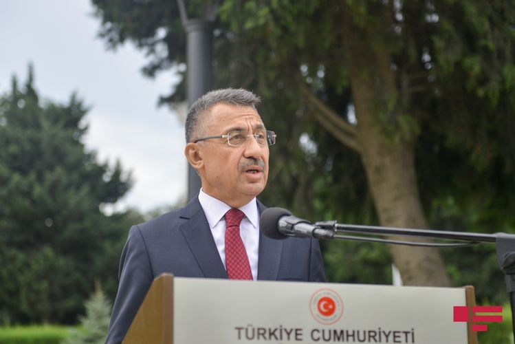 """Fuat Oktay: """"Whoever cannot call a terrorist as terrorist will always distort history"""""""