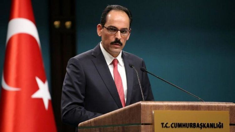 """Ibrahim Kalin: """"We recommend the US President to look at his history"""""""