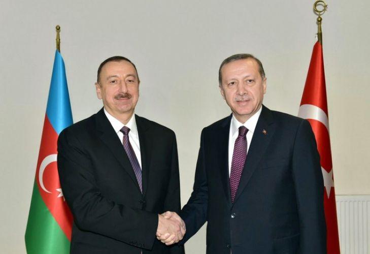 Azərbaycan Prezidenti ilə Türkiyə Prezidenti arasında telefon danışığı olub