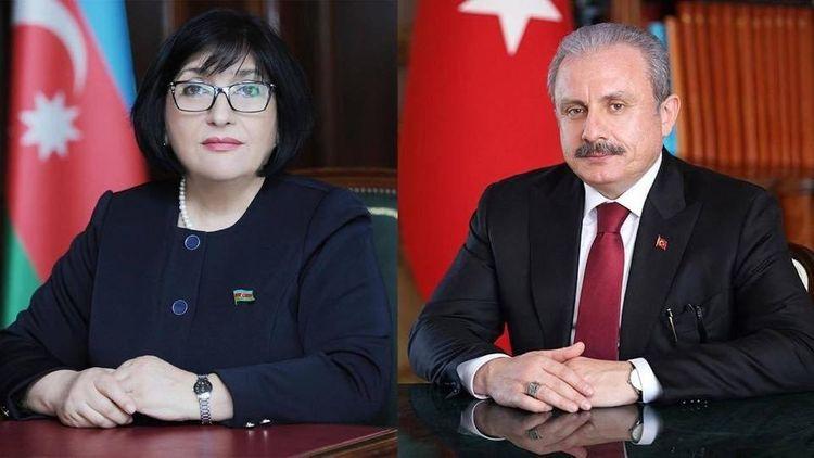 Sahibə Qafarova türkiyəli həmkarı ilə telefonla danışıb