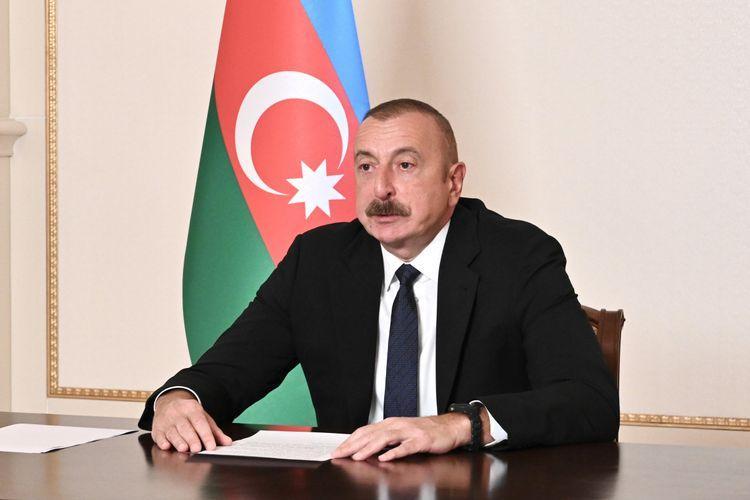 """Azərbaycan Prezidenti: """"Hazırda """"Zəngəzur nəqliyyat dəhlizi"""" üzərində çalışırıq"""""""
