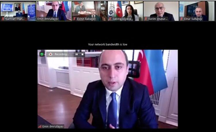 """""""Beynəlxalq Əqli Mülkiyyət Günü""""nə həsr olunmuş vebinar keçirilib"""