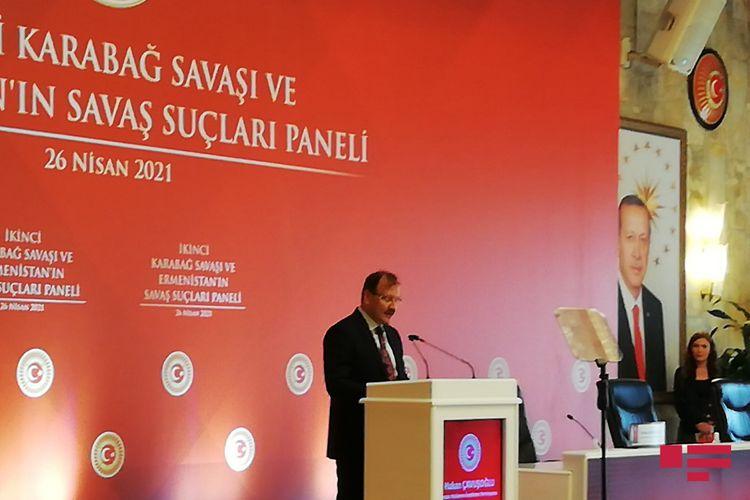 """TBMM-in komissiya sədri: """"Ermənistan müharibə cinayətinə görə məsuliyyətə cəlb olunmalıdır"""""""