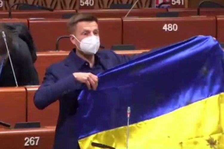 Ukraynalı deputat AŞPA-da üç ay müddətinə çıxış etmək hüququndan məhrum edilib