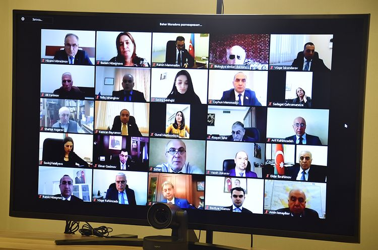 YAP-da Zərifə Əliyevanın doğum gününə həsr edilmiş videokonfrans keçirilib