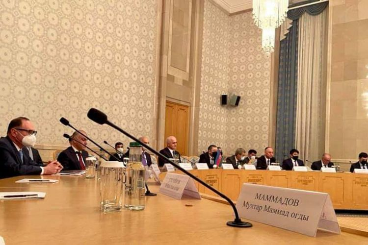 Russia-Azerbaijan Intergovernmental Commission hold meeting - <span class='red_color'>PHOTO</span>
