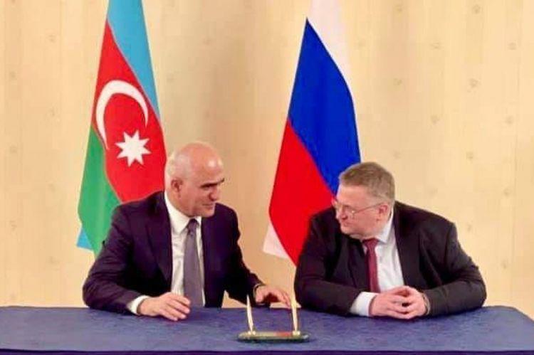Russia-Azerbaijan Intergovernmental Commission hold meeting - <span class=