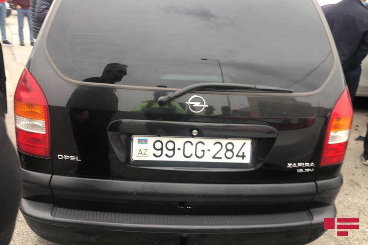 YPX avtomobili qəzaya düşüb - <span class='red_color'>FOTO</span>