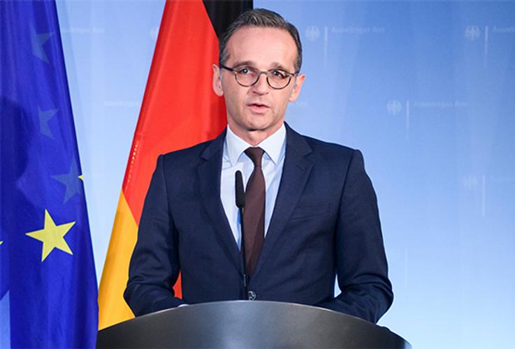 Глава МИД Германии: Конфликт в Донбассе должен быть разрешен в диалоге, а не в дуэли