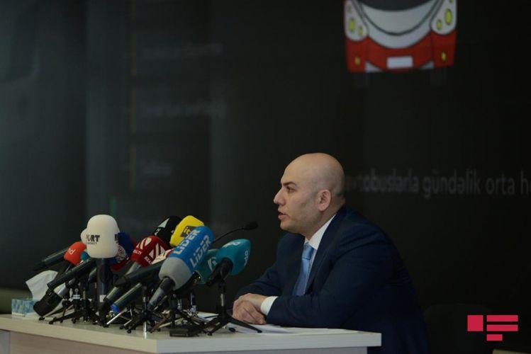 """Vüsal Kərimli: """"320 yeni avtobus alınacaq"""""""