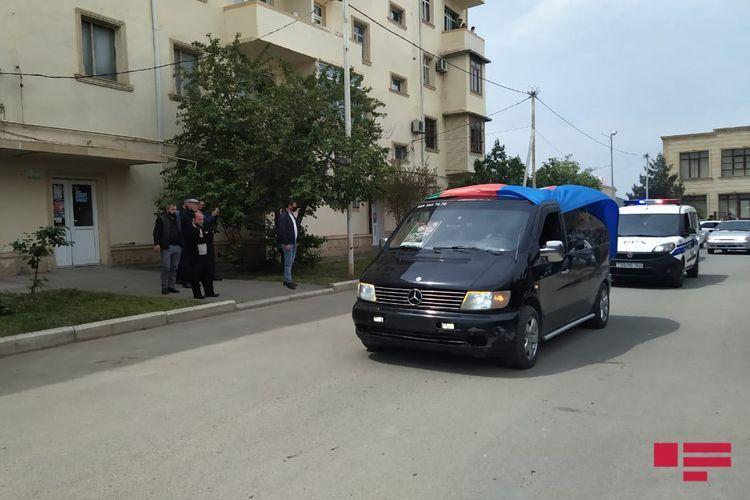 Serviceman, martyred in Patriotic War, buried in Ganja