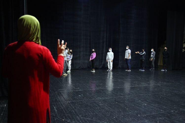 Musiqili Teatrın İnklüziv studiyası ilk məşqlərinə başlayıb
