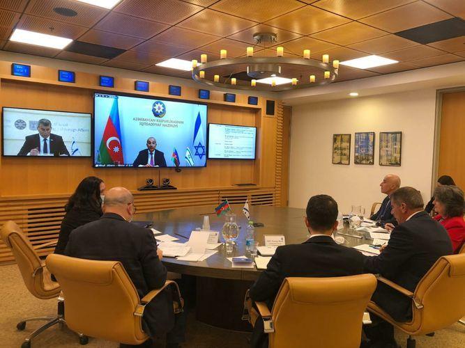 Состоялось заседание азербайджано-израильской межправительственной комиссии