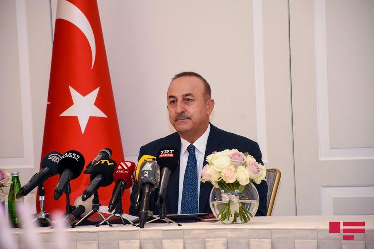 """Çavuşoğlu: """"Kiprlə bağlı görüşlərimizin müsbət nəticəsi olmadı"""""""