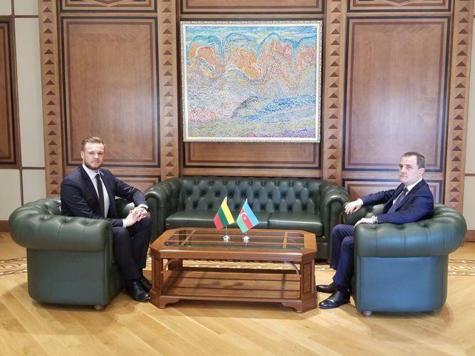 В Баку состоялась встреча глав МИД Азербайджана и Литвы - <span class='red_color'>ОБНОВЛЕНО-1</span>