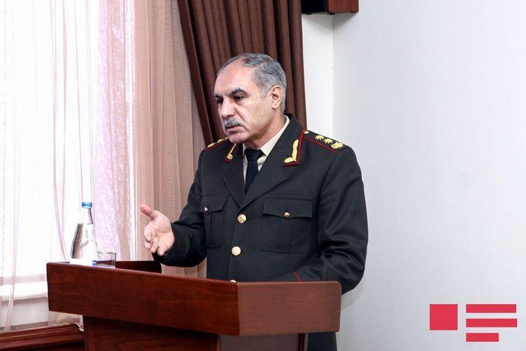 """Hərbi prokuror: """"Qəsdən adamöldürmə cinayətləri 30 faiz azalıb"""""""
