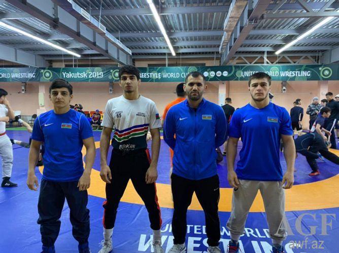 Азербайджанский борец встретится с армянином в финале международного турнира