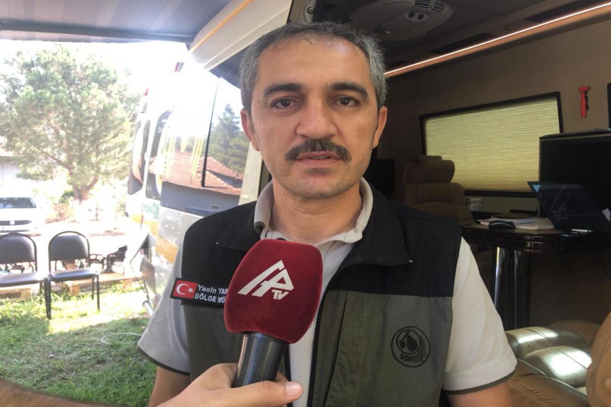"""В Турции выразили особую признательность азербайджанским пожарным - <span class=""""red_color"""">ВИДЕО"""