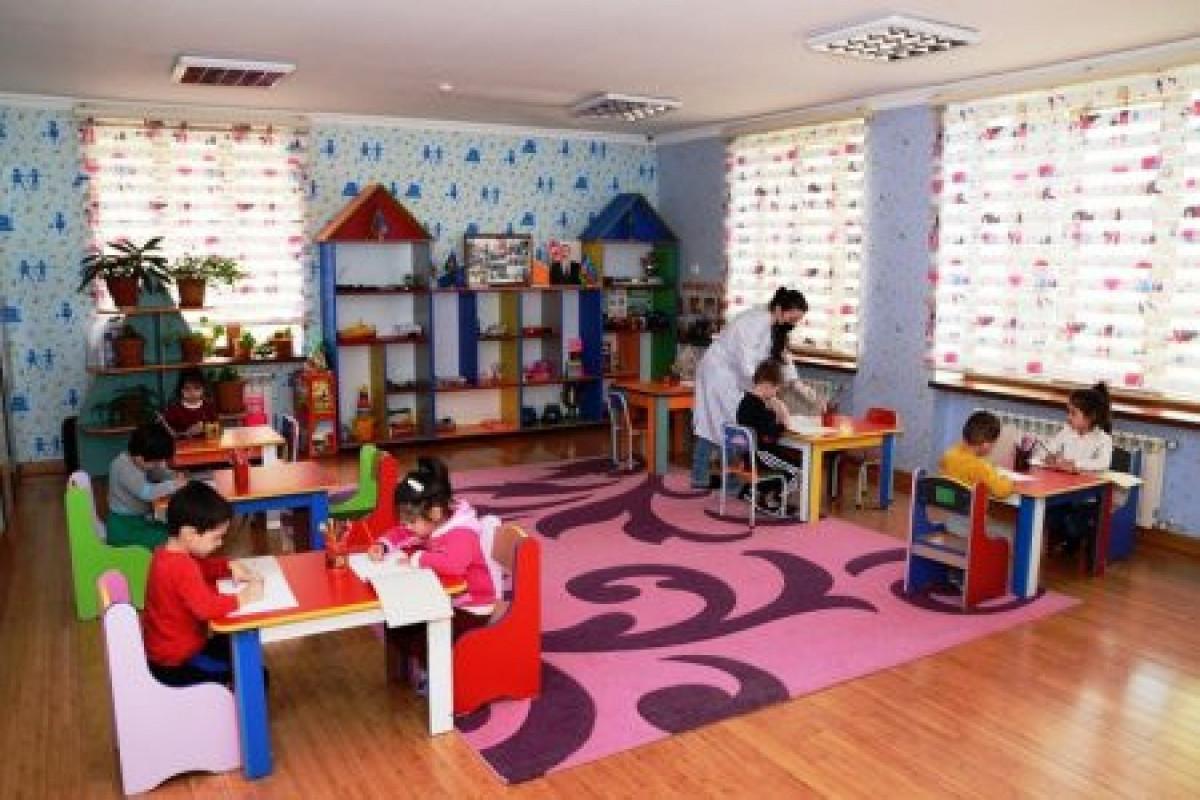 Детсады в Баку с завтрашнего дня переходят на систему электронного приема детей