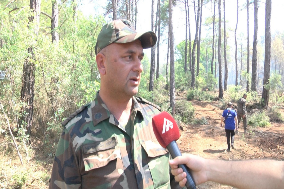 """""""Hot weather causes re-burning of areas""""-<span class=""""red_color"""">APA TV reports from Turkey - VIDEO"""