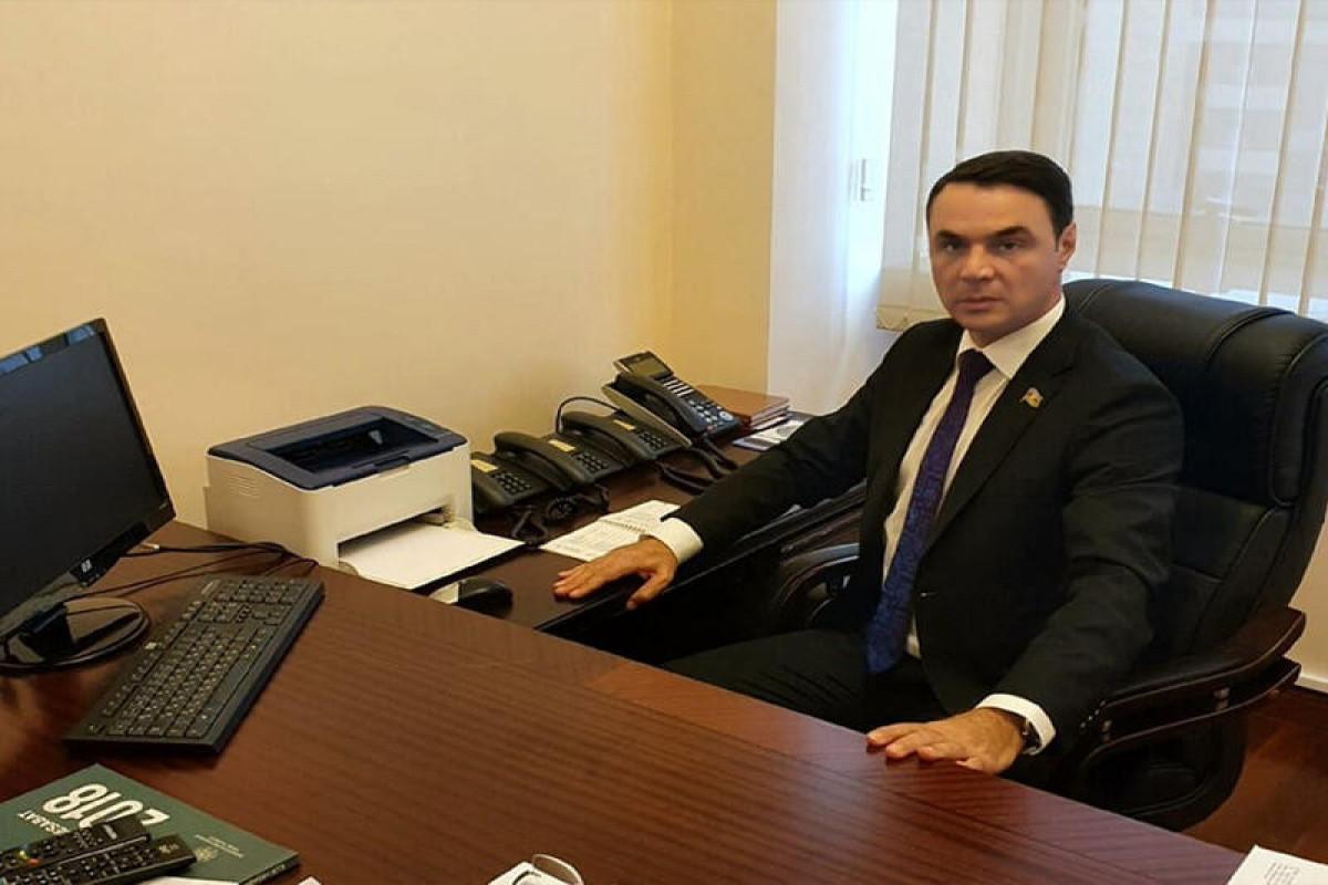 Deputat Eldəniz Səlimov açıqlama yayıb