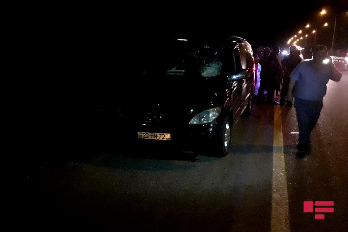 В Геранбое микроавтобус сбил насмерть пешехода