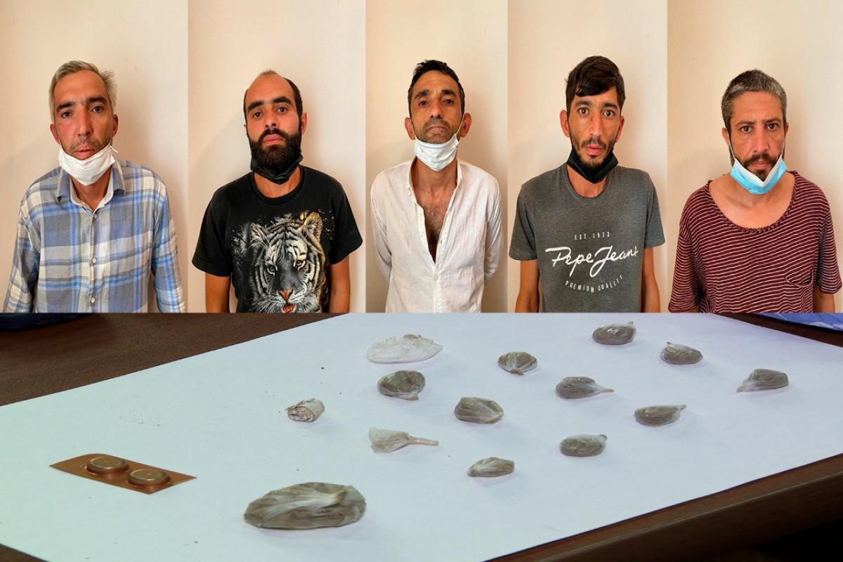 Abşeronda narkotik satışı ilə məşğul olan 5 nəfər saxlanılıb